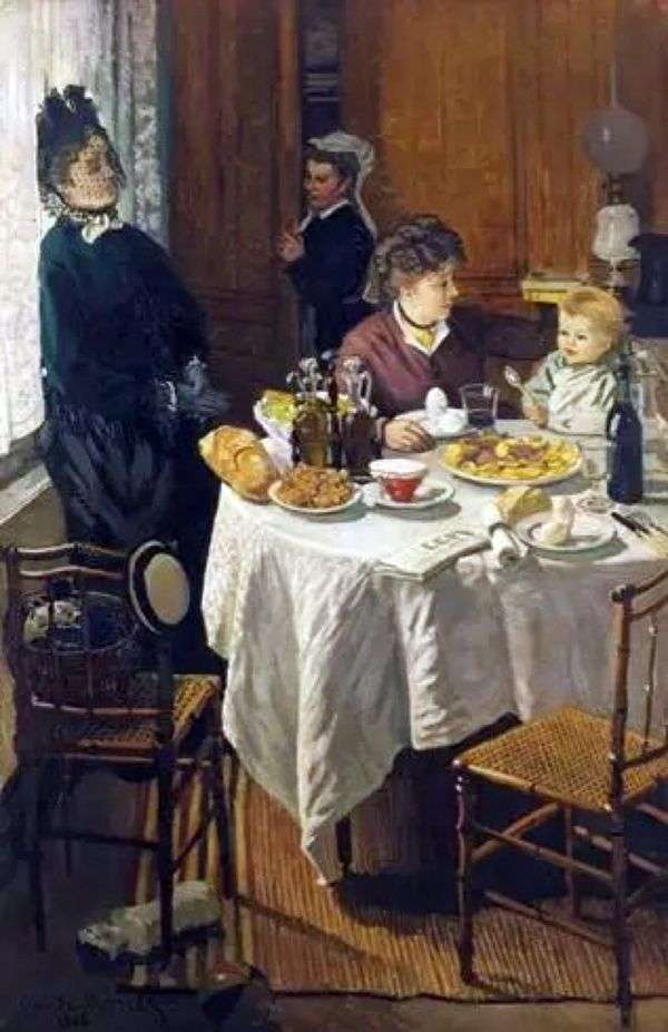Завтрак   Клод Моне