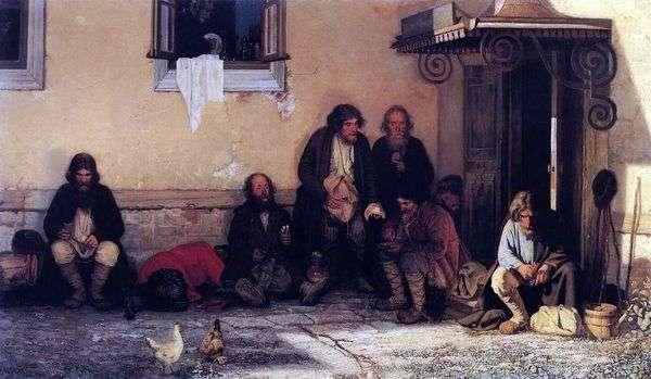 Земство обедает   Григорий Мясоедов