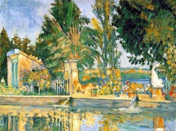 Жа де Буффан, бассейн   Поль Сезанн