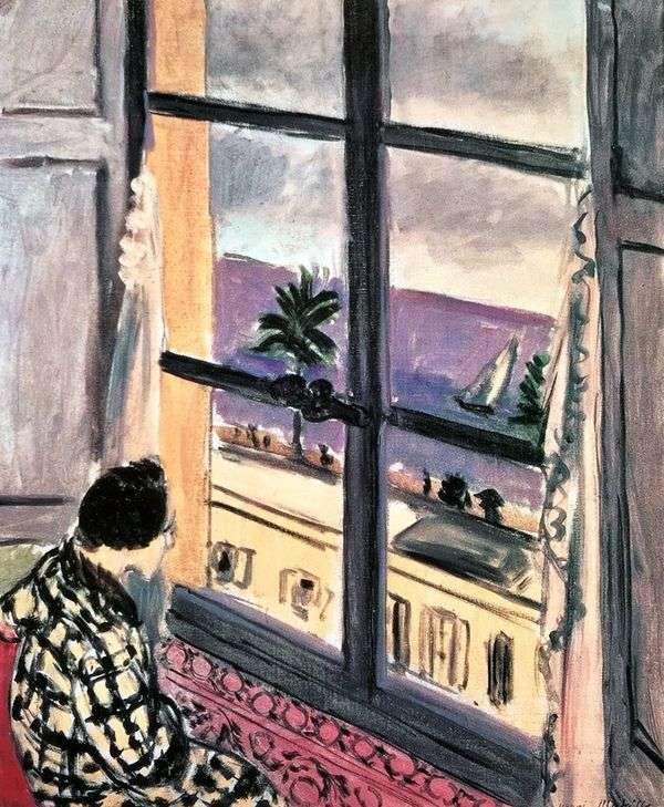 Женщина у окна   Анри Матисс