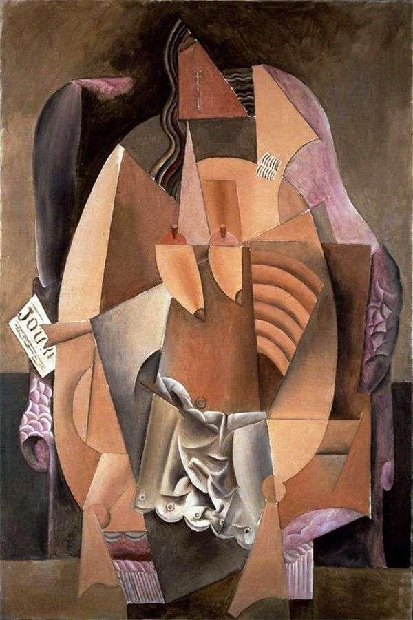 Женщина в сорочке, сидящая в кресле   Пабло Пикассо