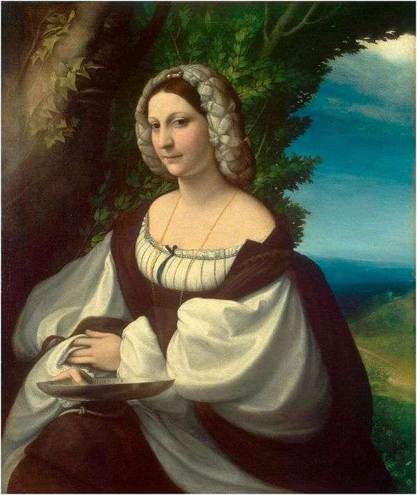 Женский портрет   Корреджо (Антонио Аллегри)