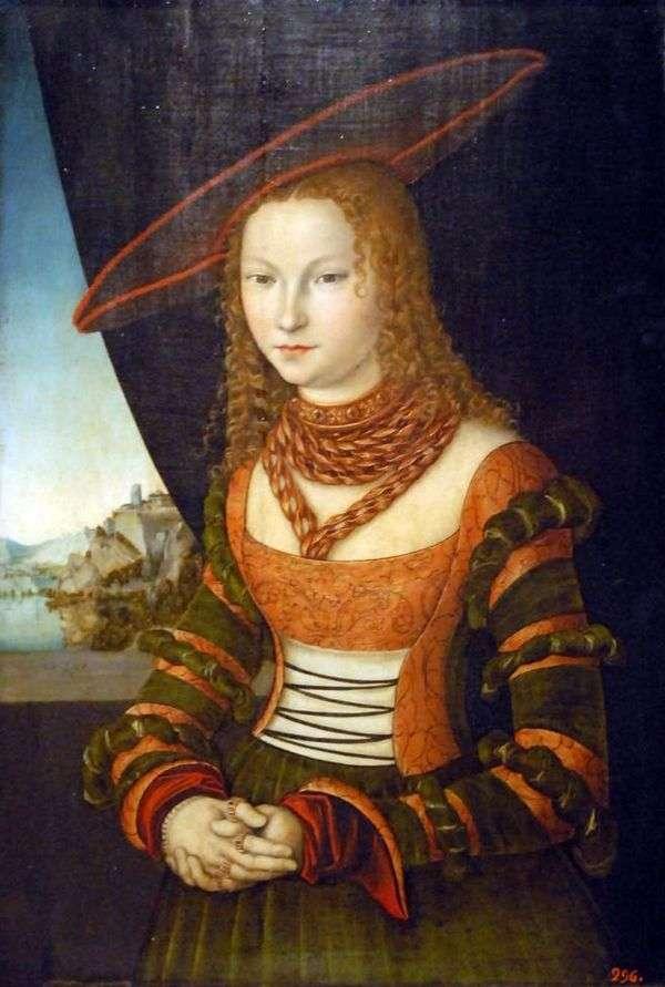 Женский портрет   Лукас Кранах