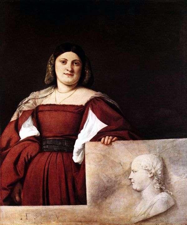 Женский портрет   Тициан Вечеллио