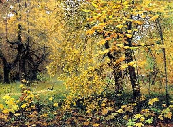Золотая осень   Илья Остроухов